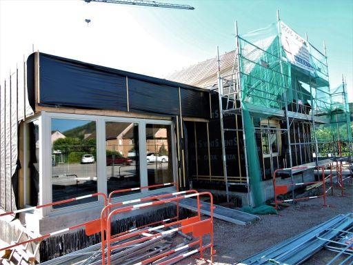 Galerie photos de la construction du cabinet médical