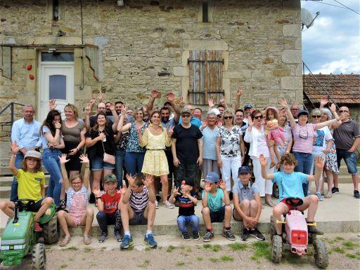 Les habitants de Visigneux ont renoué avec la fête des voisins