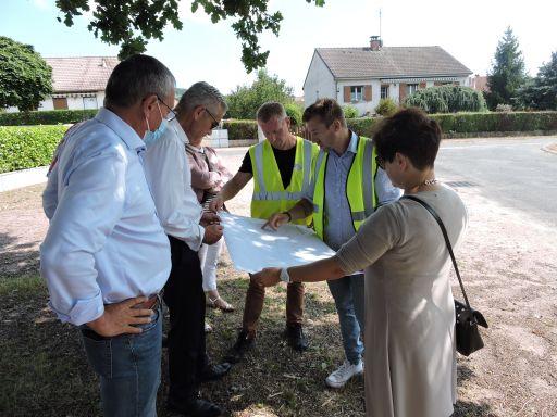 """Renouvellement des réseaux d'eaux  usées et pluviales au lotissement du """"Mont Loy"""""""