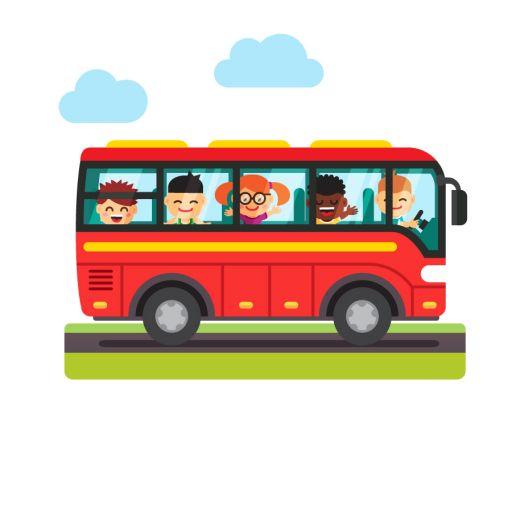 Nouveauté: un règlement avec un coupon réponse pour le transport scolaire à l'école de Marmagne