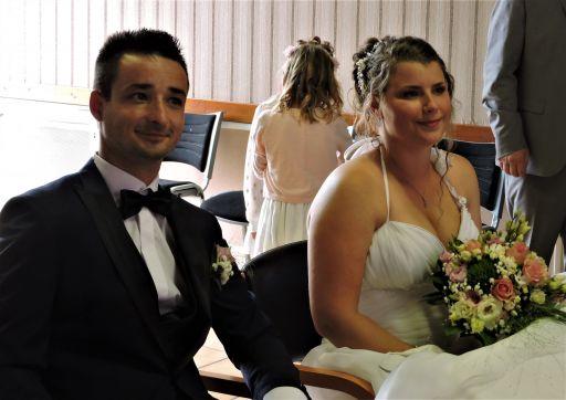 Claudie et Loïc se sont mariés