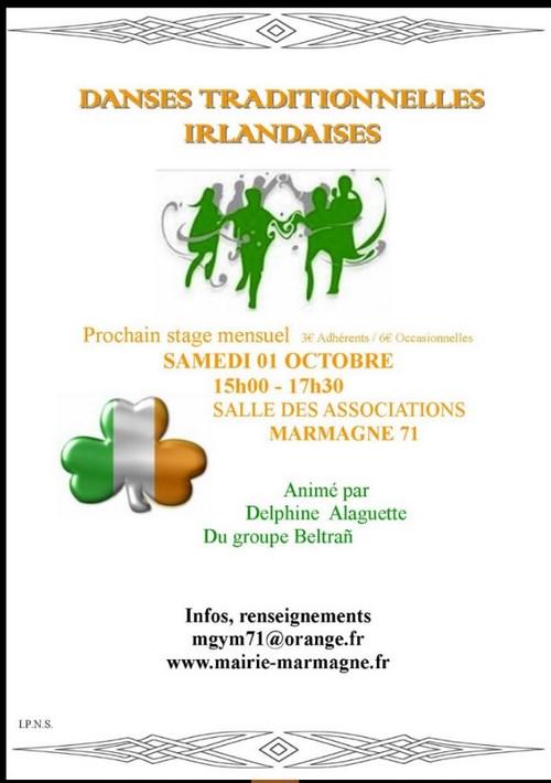 Stage danse Irlandaise