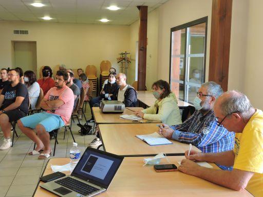 A l'écoute des habitants du lotissement de la Croix Jeangoux
