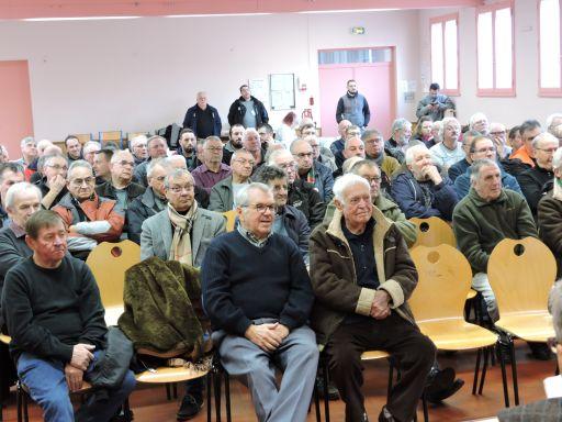Une centaine de personnes à l'assemblée générale des amis du Mesvrin