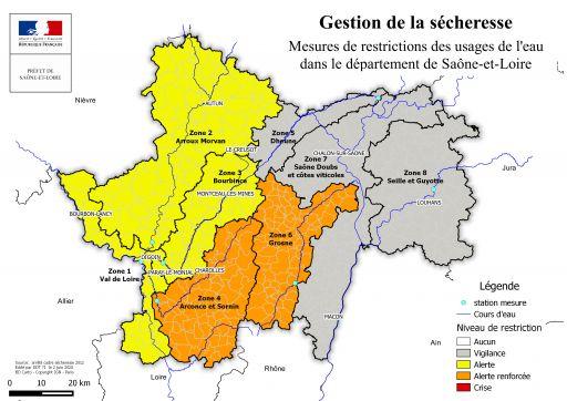 Restrictions de l'usage de l'eau: Marmagne en zone alerte