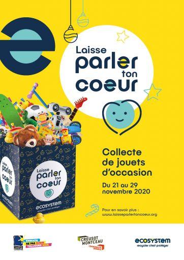 L'école participe à la collecte de jouets pour une démarche écologique