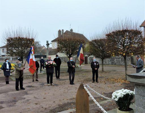 Commémoration du 11 novembre en comité restreint