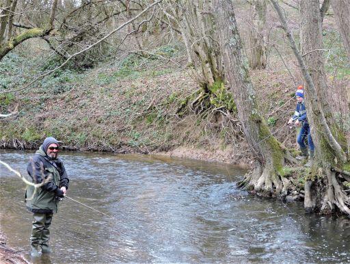 Les truites au rendez vous pour l'ouverture de la pêche