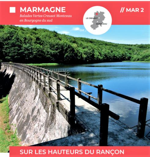 Les fiches détaillées des 2 balades vertes de Marmagne et une autre qui passe sur la commune sont consultables